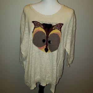 American Rag Fox Sweater Tunic
